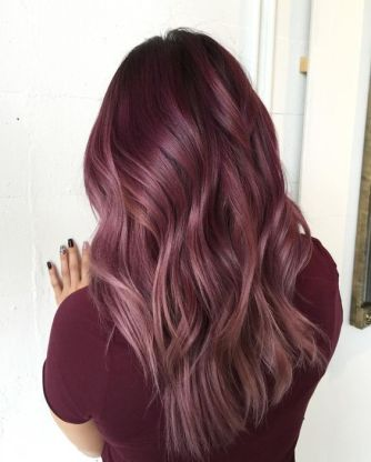 Ombre Rose Gold